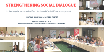 Media Release: HOSPEEM-EPSU First Regional Workshop in Eastern Europe, 14 June 2019, Bucharest, Romania