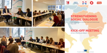 Kick-off meeting of the HOSPEEM-EPSU Project 2019-2020 on strengthening social dialogue in the hospital sector
