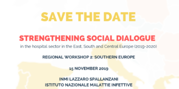 Regional Workshop 2: Southern Europe